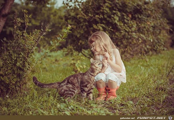 Deshalb brauchen Babys eine Katze 7