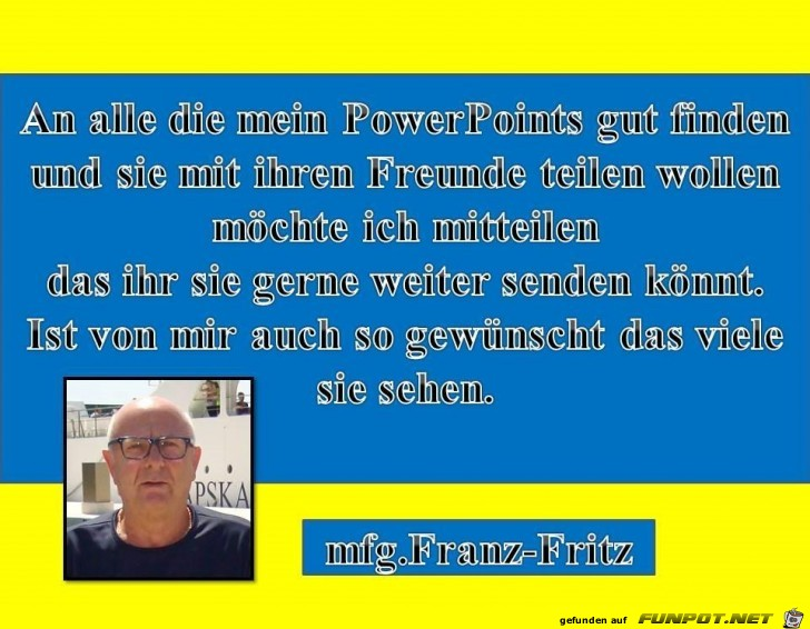 Information an alle