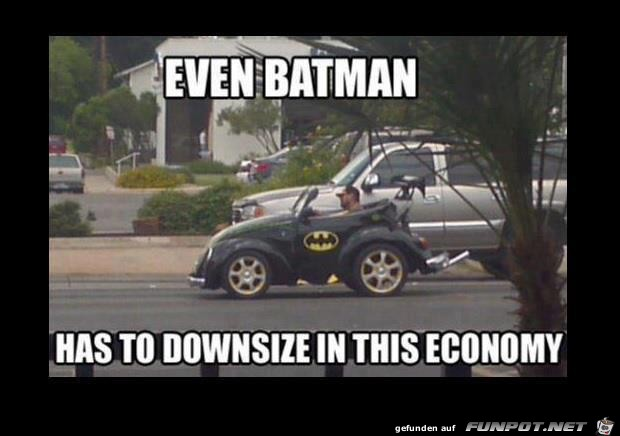 Batman downsize