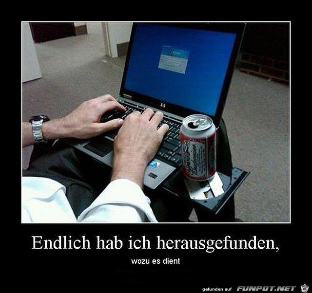 Laptop Dosenhalter