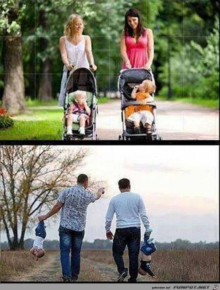 Unterschied zwischen Frau und Mann