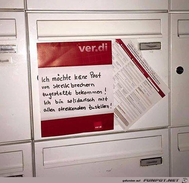 Post-Streik