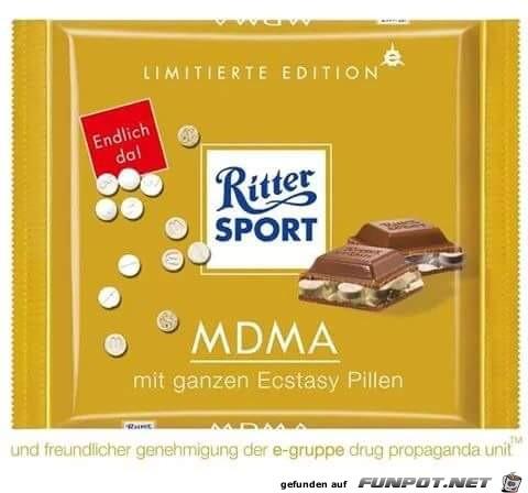 Rittersport Drogen