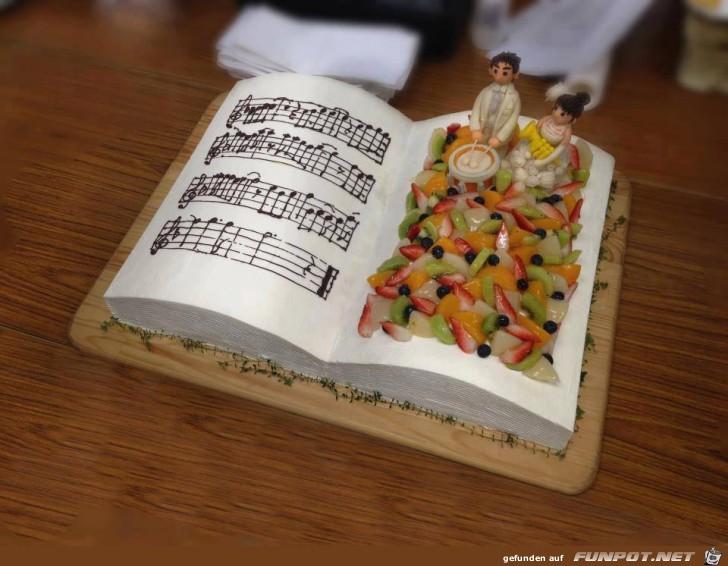 Super schöne Torten! Da sind echte Kunstwerke dabei.