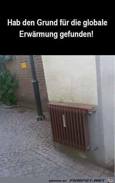 Erwärmung