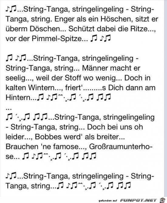 string-Tanga