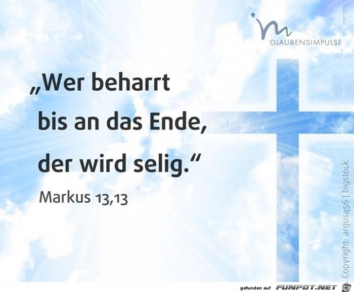Markus 13,13