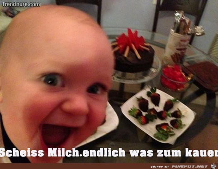 Scheiss Milch...