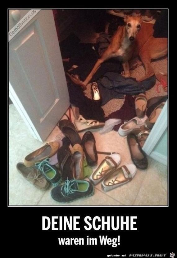 deine Schuhe
