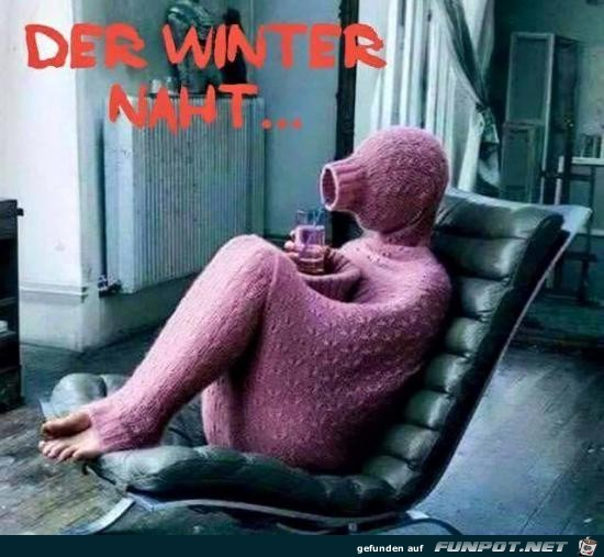 der Winter naht