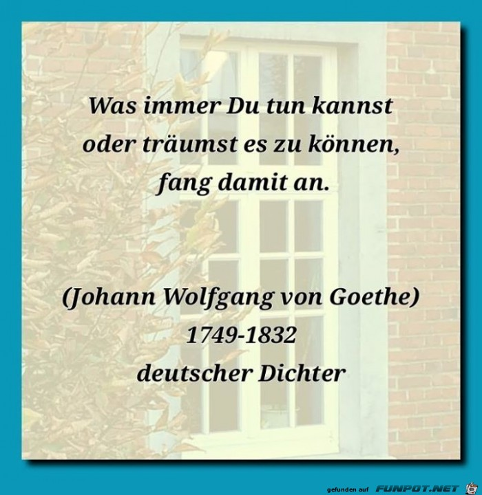 was immer
