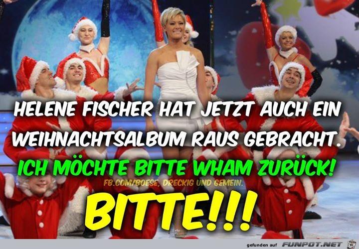 Helene Fischer hat Weihnachtsalbum