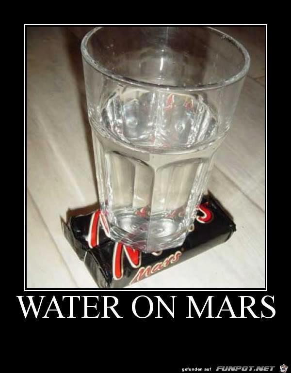 die Sensation: es wurde Wasser auf dem Mars entdeckt!