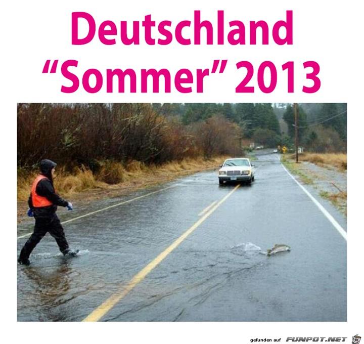 Deutschland-Sommer 2013