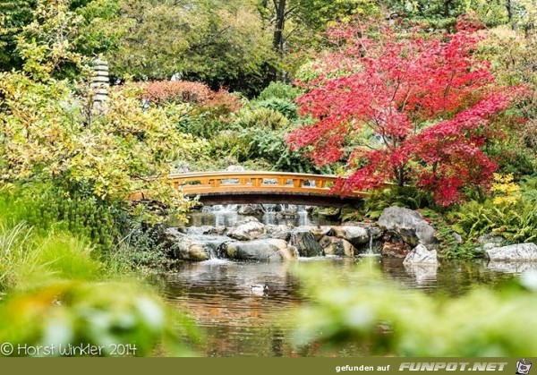 japanischer Park