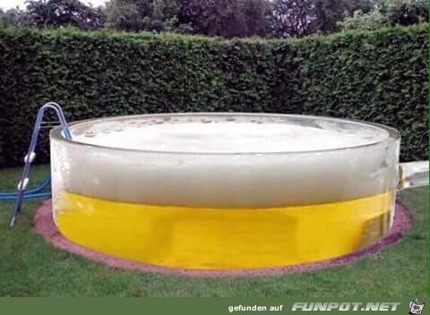 Mein Pool ist fertig