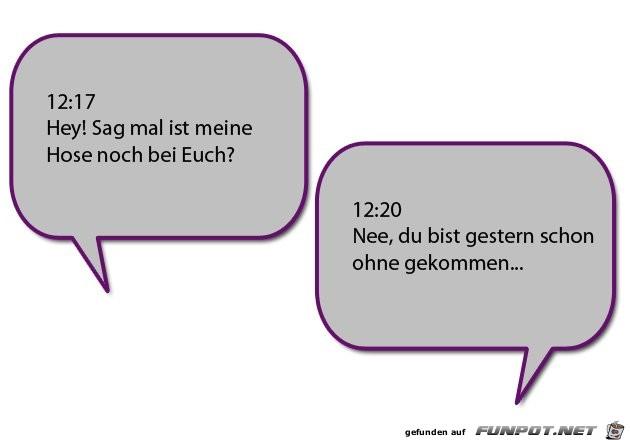 Fünf witzige SMS-Dialoge
