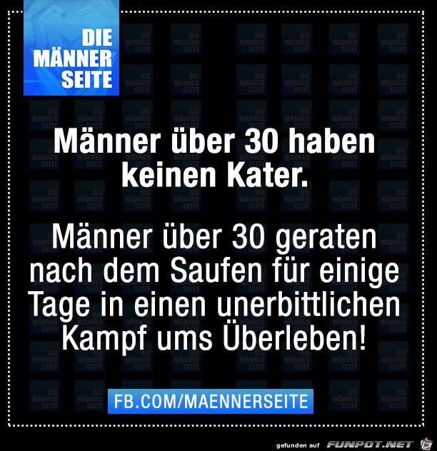 Maenner ueber 30