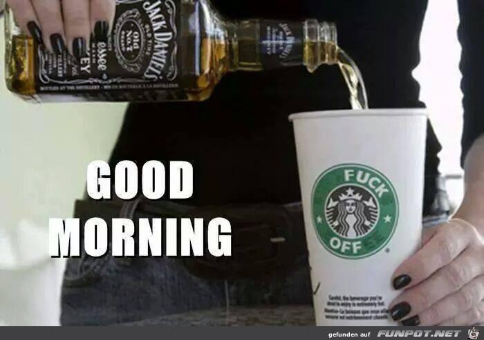 Good morning mit Jacky