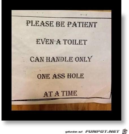 witzige Schilder (Englisch)
