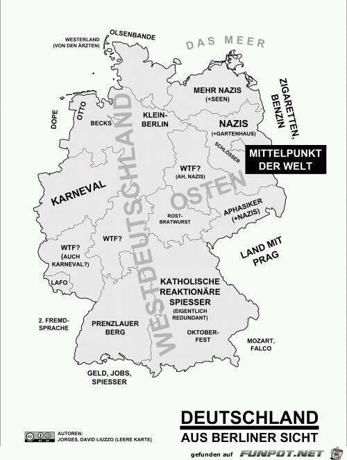 Deutschland aus Berliner Sicht