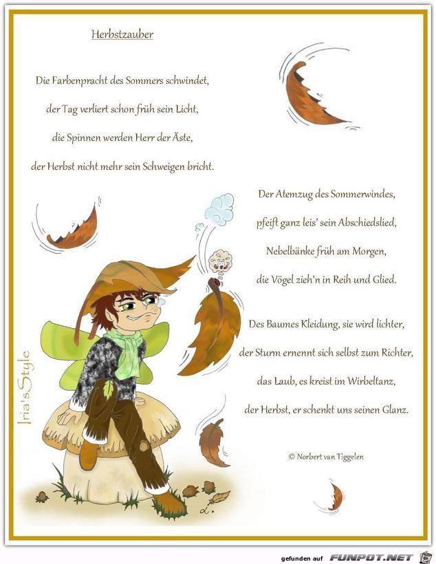 Herbstzauber - Norbert v. Tiggelen