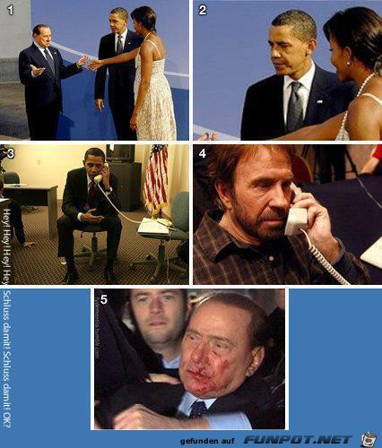 Obama Berlusconi