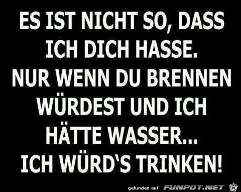 Ich hasse dich