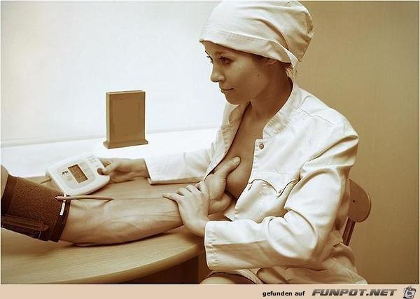 Blutdruck-Test