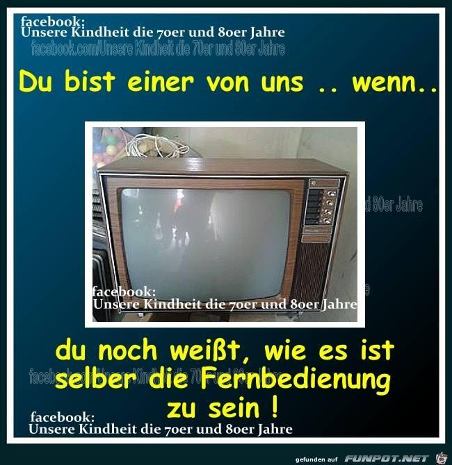 Damals beim fernsehen