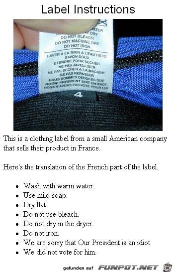 label instructions 1