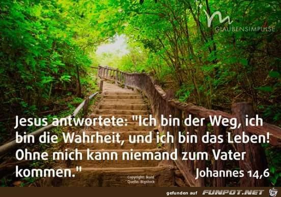 johannes 14 6