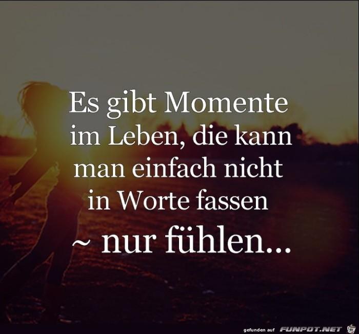 Momente im Leben