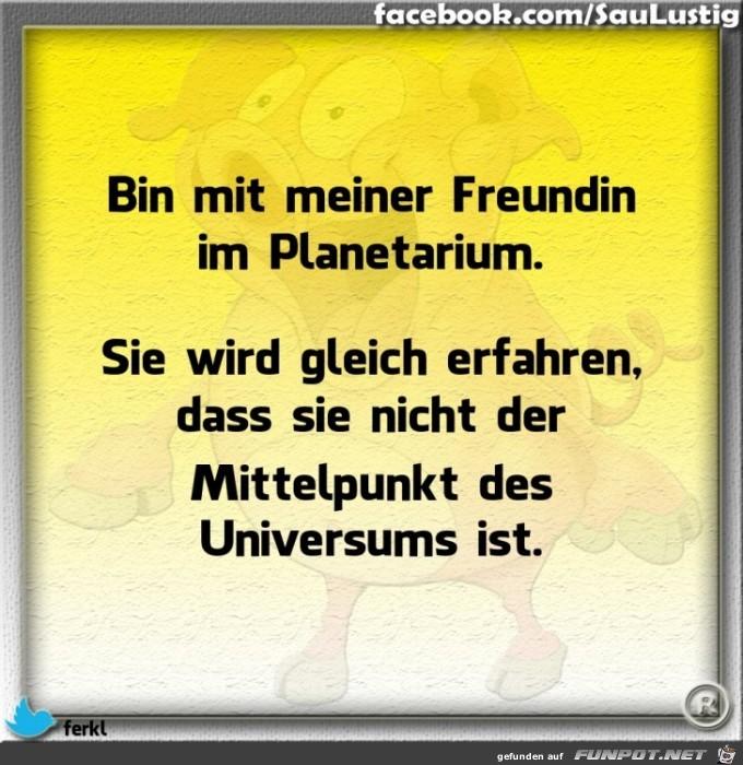 Bin im Planetarium