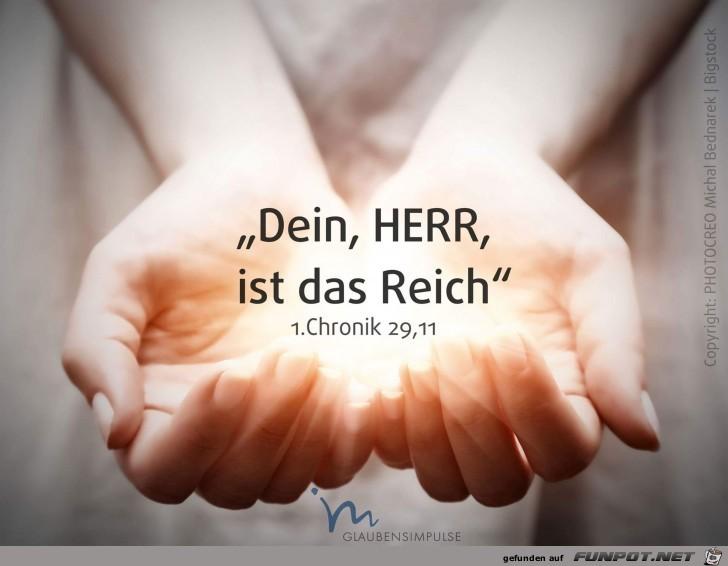1. Chronik 29,11