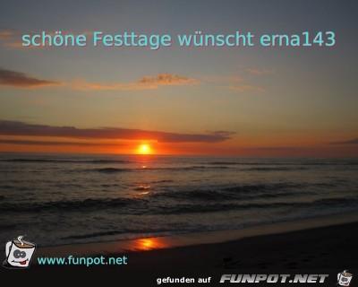 schoene Festtage wuenscht erna143