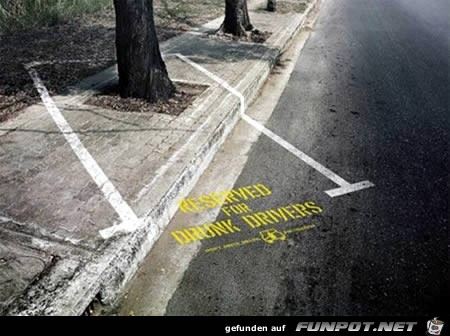 kreative Werbung an ungewöhnlichen Orten