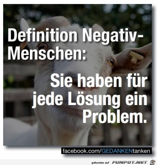 Negativmenschen