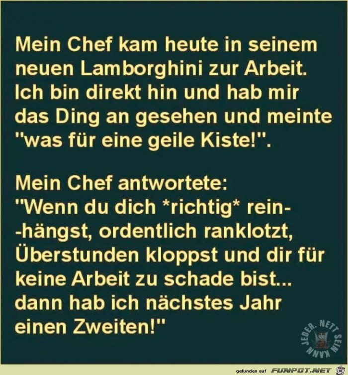 mein chef
