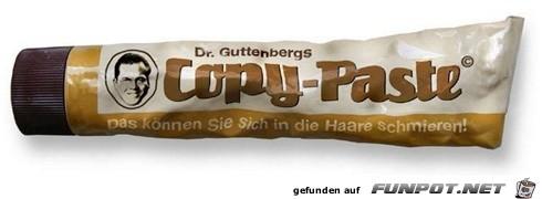 guttenbergs copy-paste