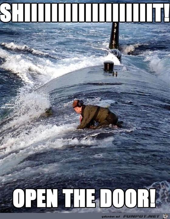 auf dem U-Boot