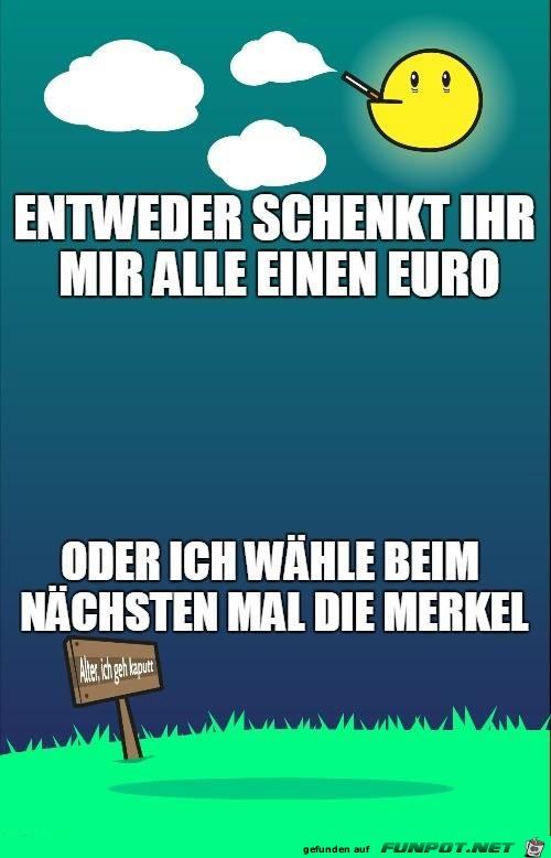 Einen Euro