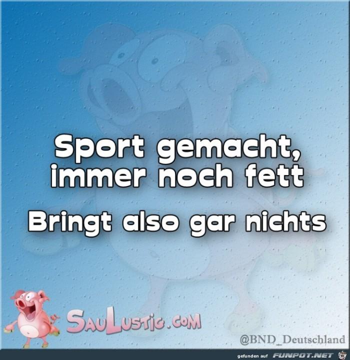 Sport-gemacht