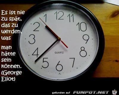 Es ist nie zu spät - 10672267