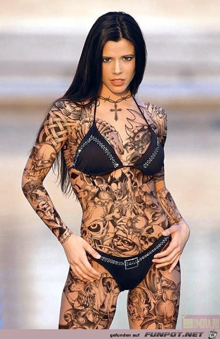 Frauen mit tattoo