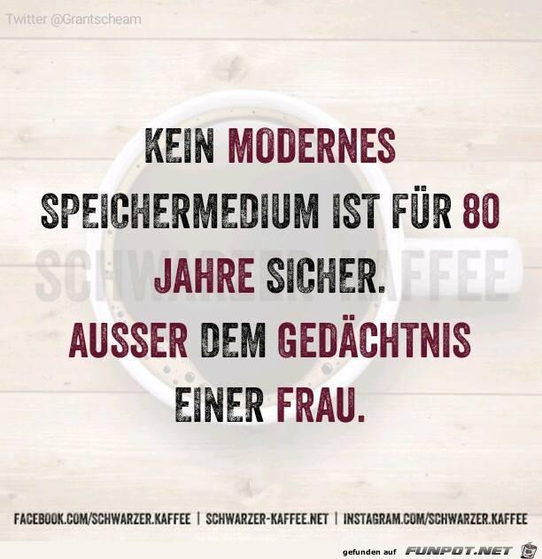 Modernes Speichermedium