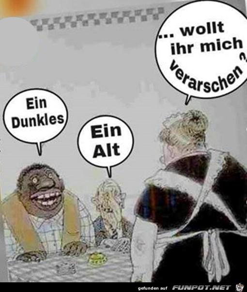 Dunkles und Alt