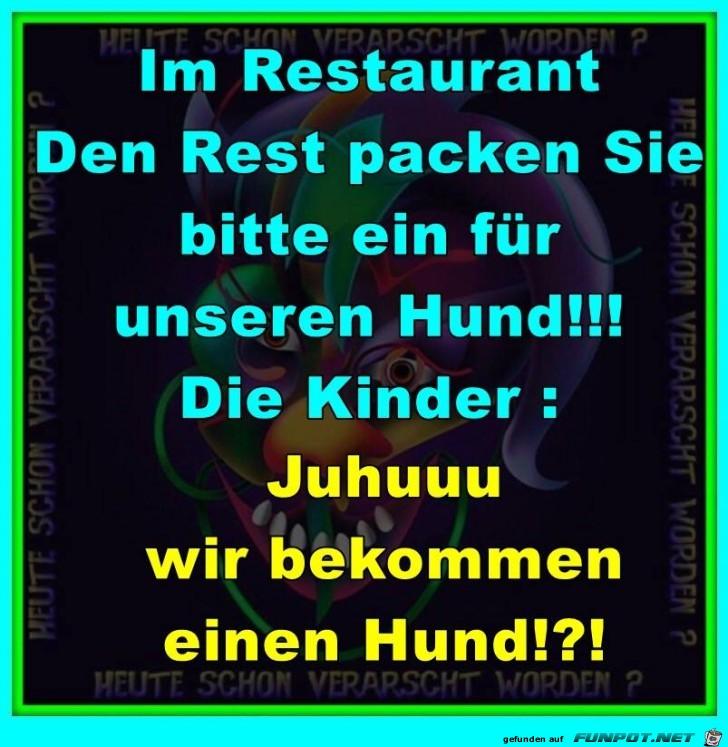 Im Restaurant