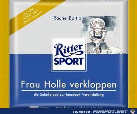 Ritter-Sport Rache Edit.
