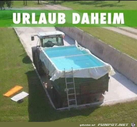 Urlaub Daheim
